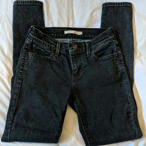 Levi's Women's Super Skinny Black Jeans